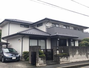 前橋市朝日町K様:外壁・屋根塗装の事例
