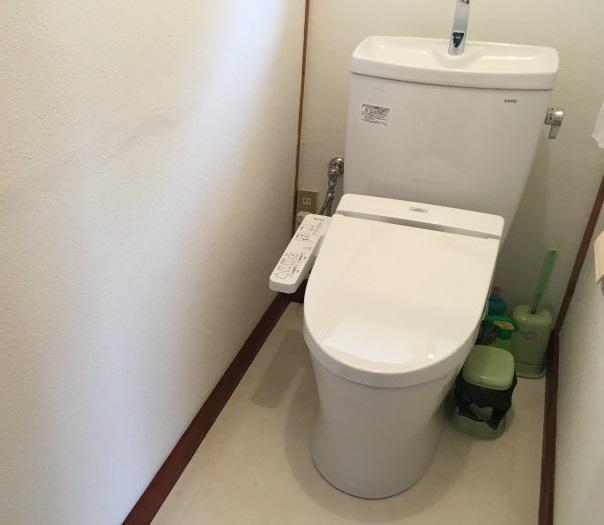 前橋市六供町にトイレ交換工事の現場調査にお伺いいたしました