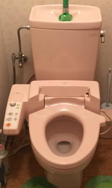 高崎市東貝沢町にトイレ交換工事の現場調査にお伺いいたしました