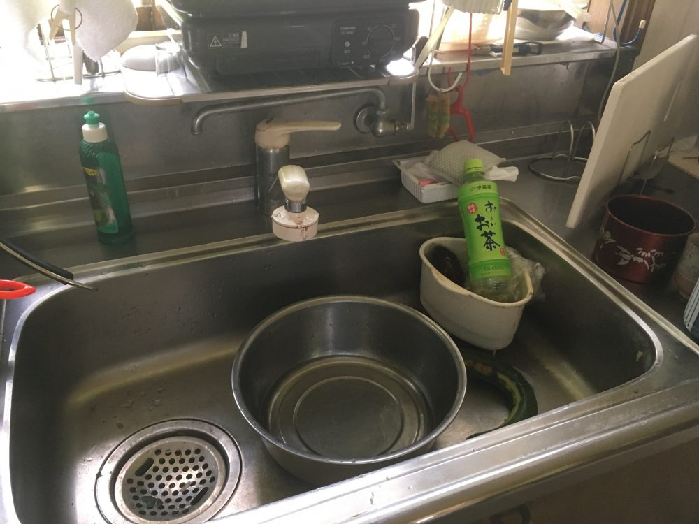 キッチンリフォーム(リクシルのシエラ)で気をつけたい水栓の位置@前橋 – ミヤケンリフォーム