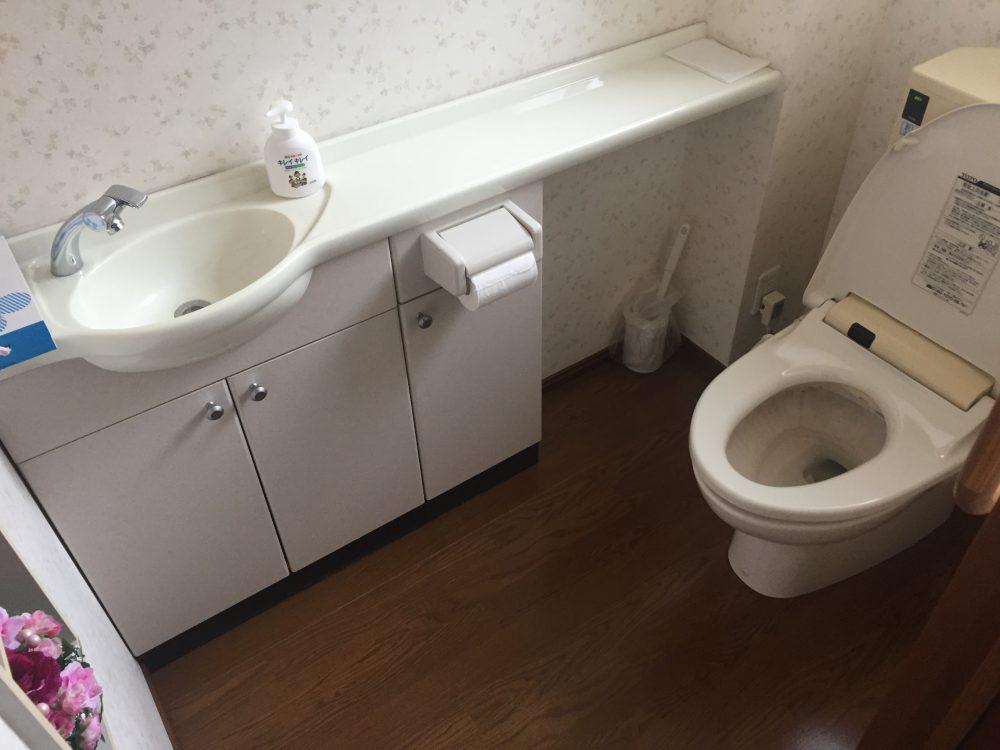 前橋市でトイレお見積り調査へ…タンク内の水漏れが発覚!