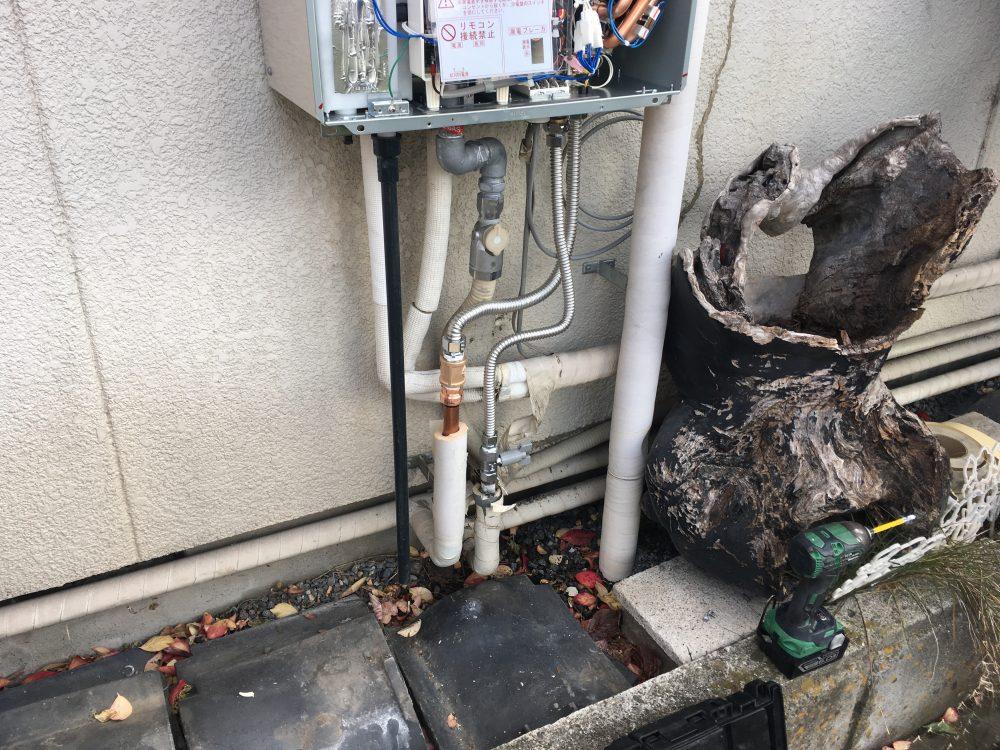 前橋市で給湯器(リンナイ、エコジョーズ)交換工事を施工しました! – ミヤケンリフォーム