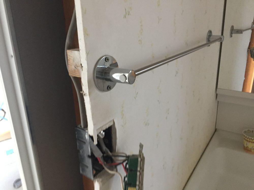 前橋市へ浴室リフォーム改修工事の中間点検に行きました – ミヤケンリフォーム