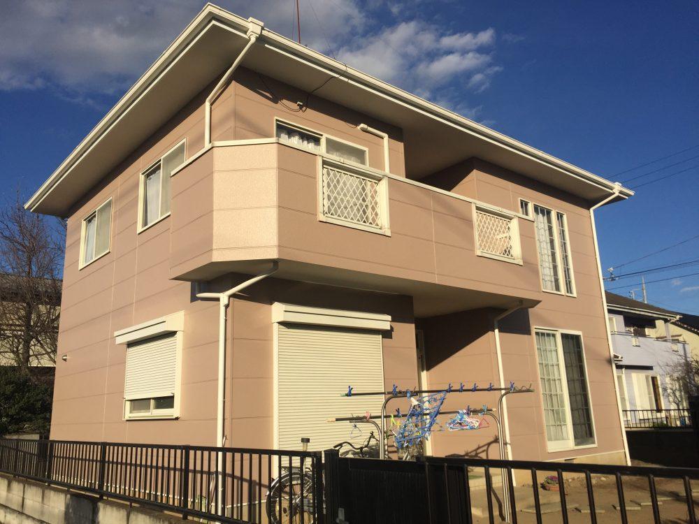 太田市Y様の外部塗装改修工事が完了しました