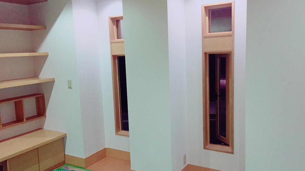 前橋市にてお家の室内壁・天井の塗装工事が完了!