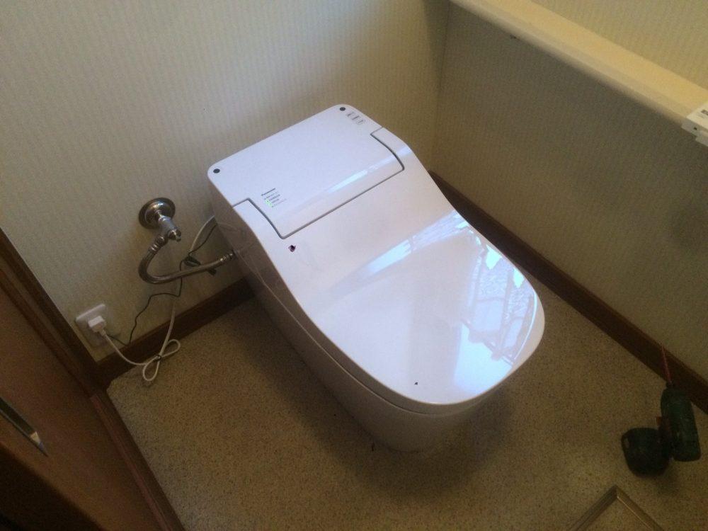 前橋市にてトイレ交換工事が完了しました!