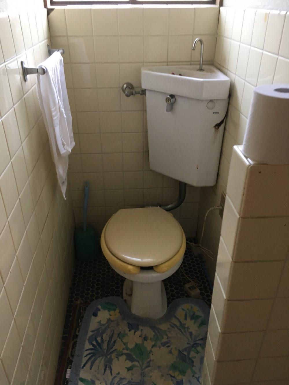 前橋市I様邸にトイレの現場調査に伺いしました!