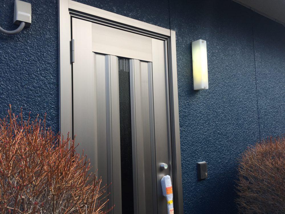 前橋市K様邸、玄関扉の交換工事の点検にいきました – ミヤケンリフォーム