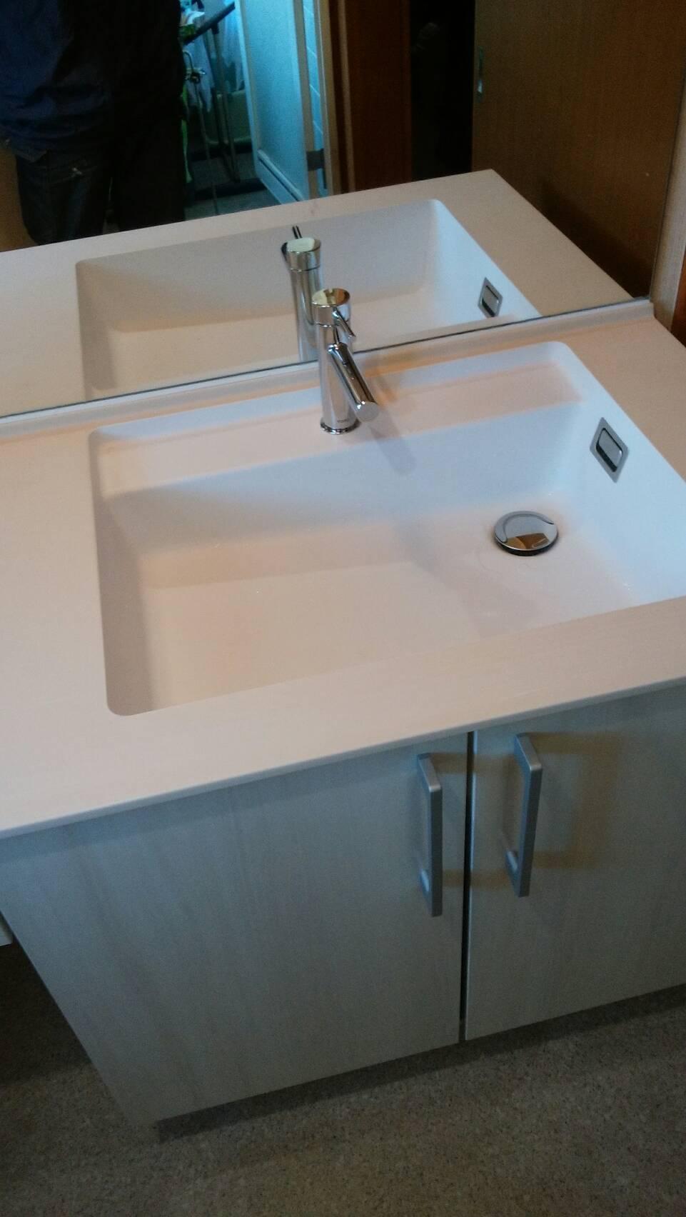 前橋市朝日町にて洗面台交換工事の完了検査にいきました – ミヤケンリフォーム