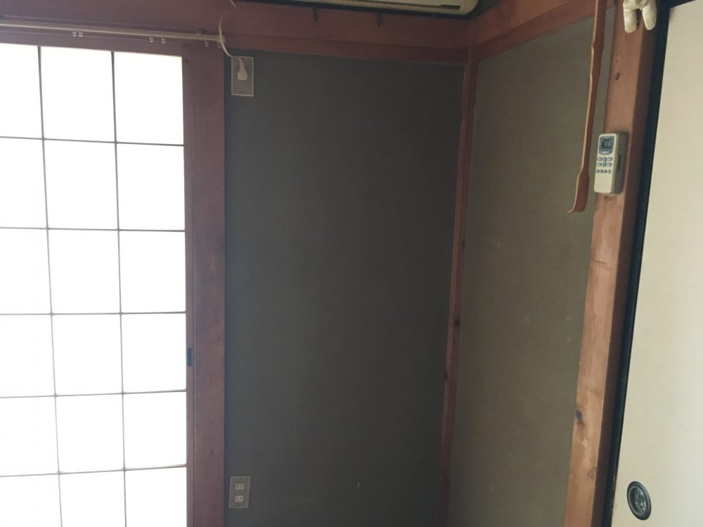 和室から洋室に、床壁リフォーム – ミヤケンリフォーム