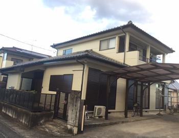太田市成塚町T様:外壁塗装の事例