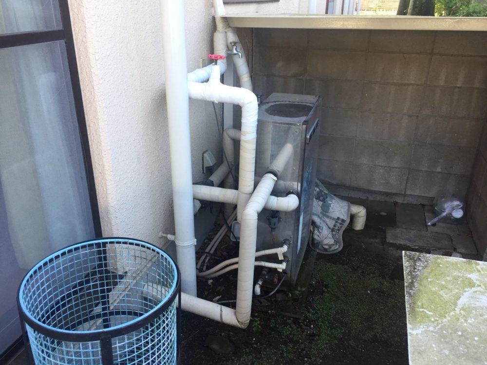 ノーリツ石油給湯器(ソーラー接続専用機)の交換工事 – ミヤケンリフォーム