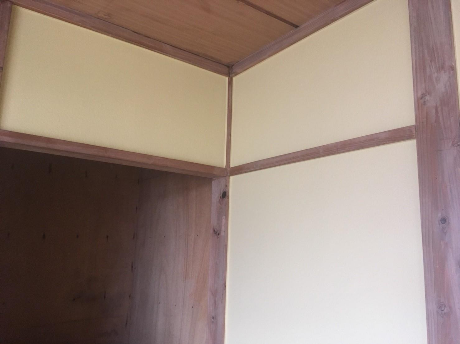 前橋市にてアパートの内部塗装工事が完工しました