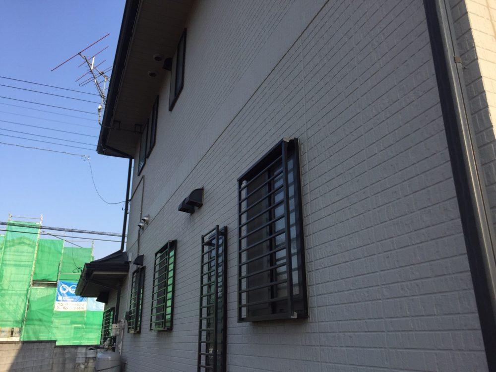 前橋市にて外壁の塗装工事・壁材の反りの現場調査にいきました