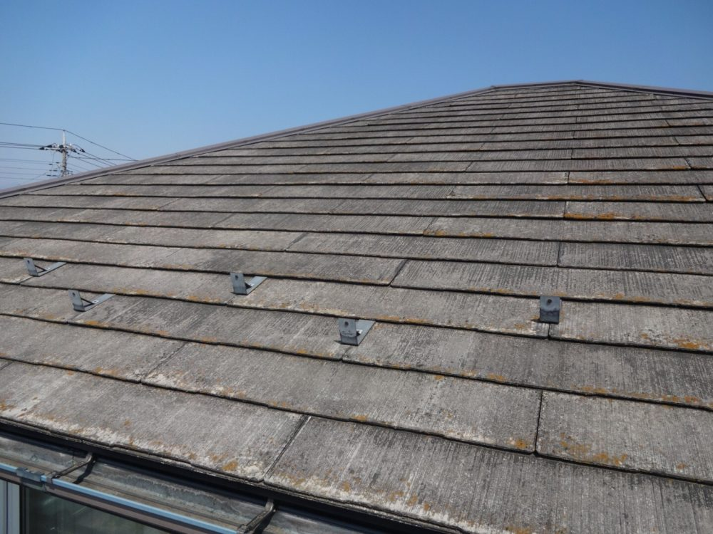 前橋市朝倉町で屋根の調査に行ってきました