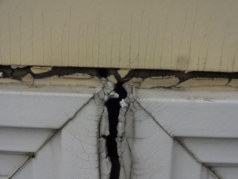 前橋市にて塗装工事の現場調査にお伺いしました