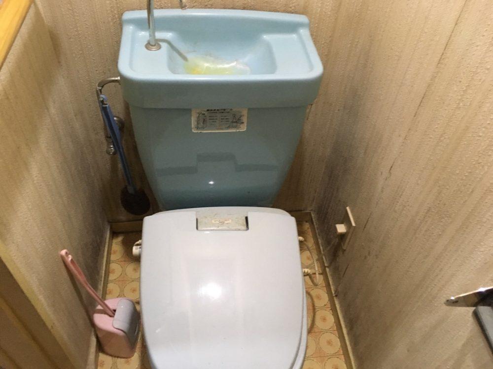 前橋市にてトイレの見積にお伺いしました(LIXIL アメージュZ)