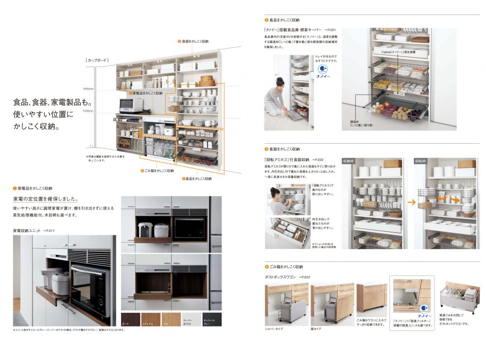 収納力がすごい!キッチン・カップボード – ミヤケンリフォーム