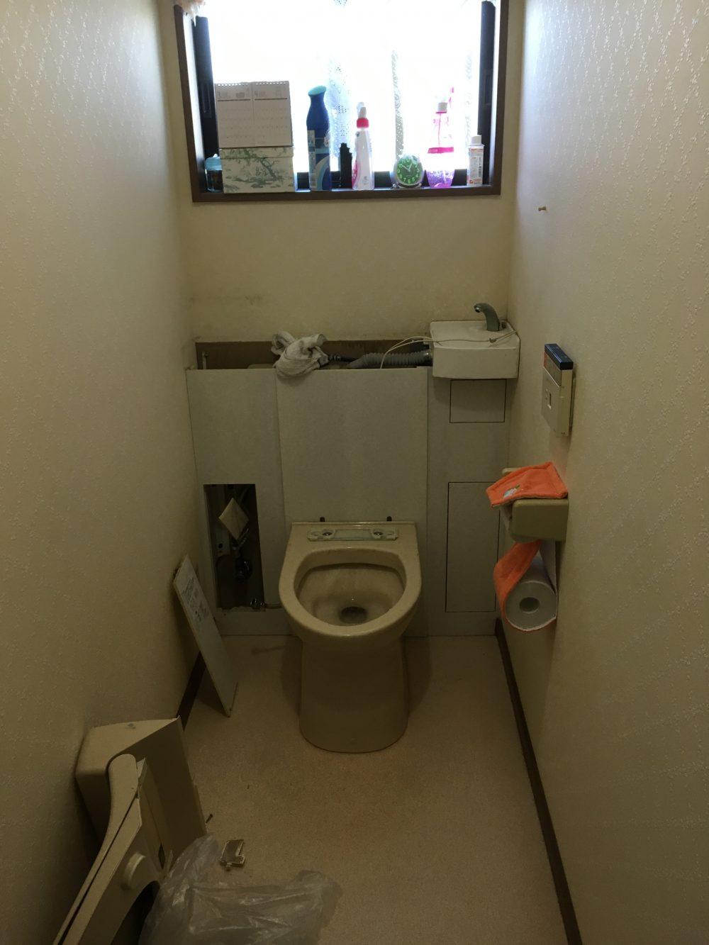 前橋市でトイレ工事の現調にお伺いしました。