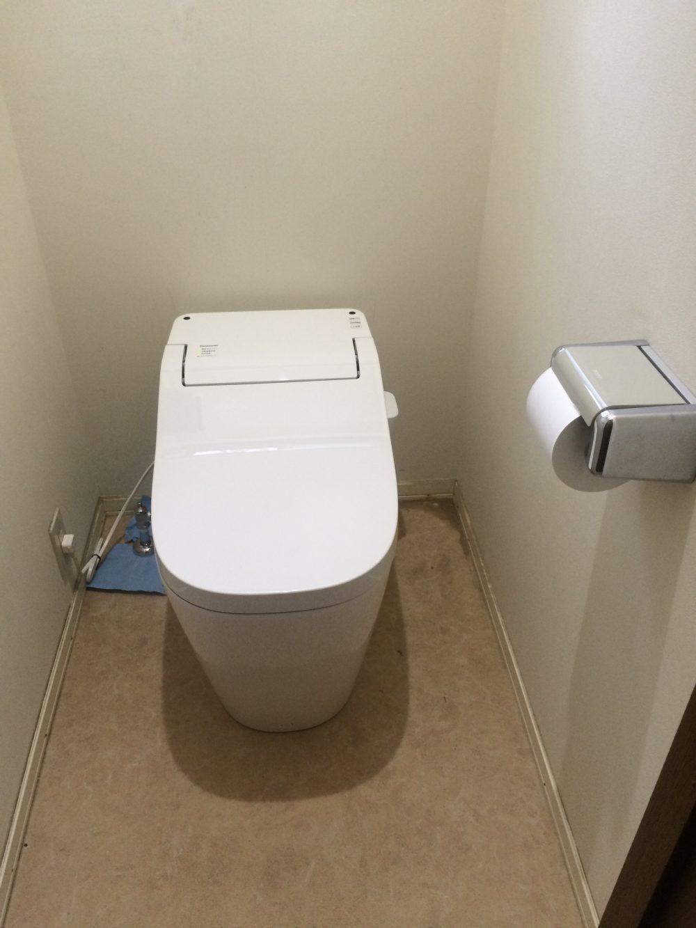 トイレ(アラウーノSⅡ)・給湯器交換工事が完了しました。 – ミヤケンリフォーム