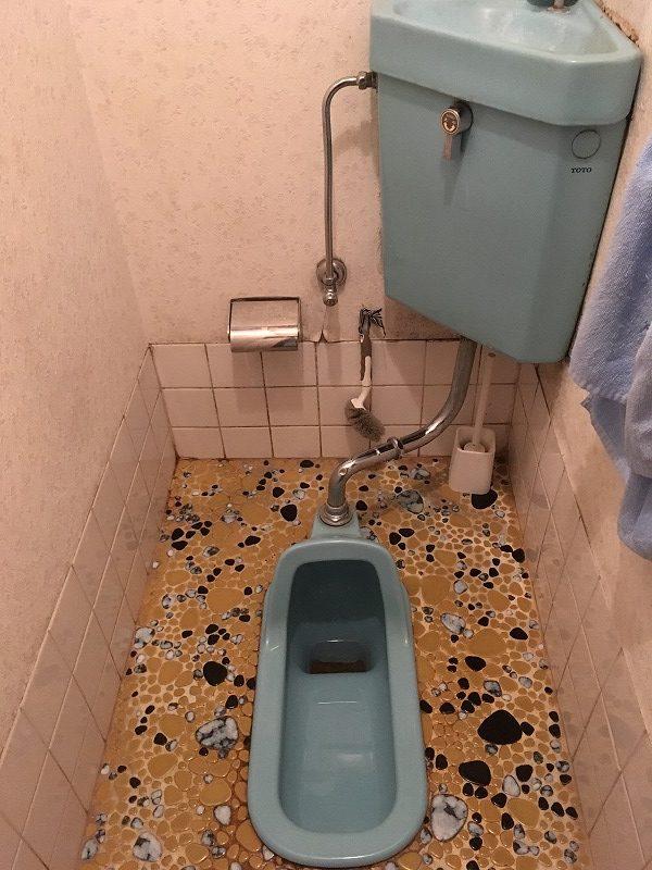 和式トイレから洋式トイレの現場調査にお伺いしました。 – ミヤケンリフォーム
