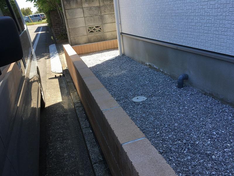 高崎市にて外構工事のお見積りにお伺いいたしました!