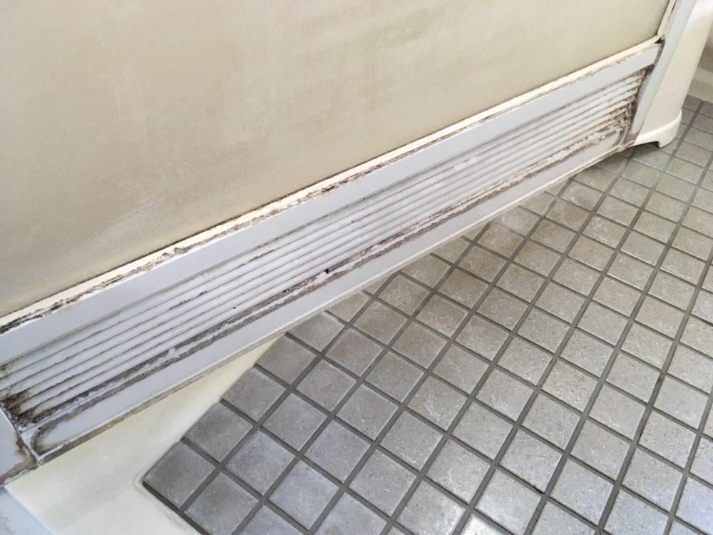 前橋市にて浴室ドアリフォームの現場調査にお伺いしました