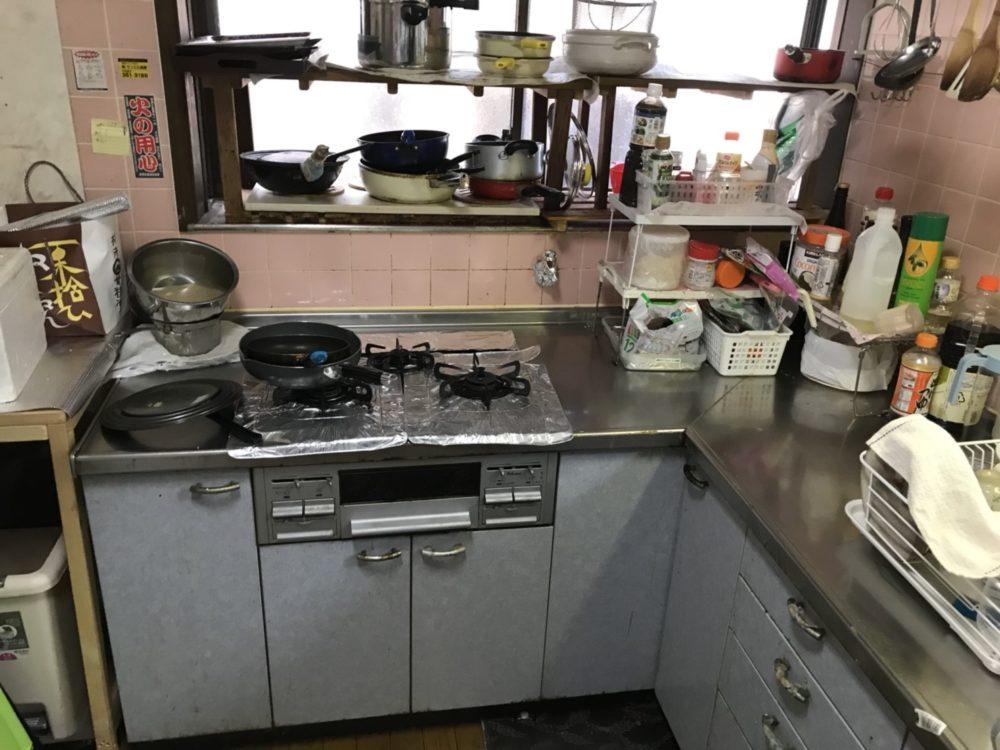 前橋市にてキッチンリフォームの現場調査にお伺いしました