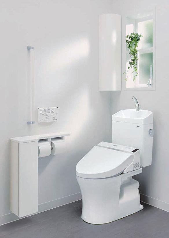 TOTOトイレのピュアレストQRが手洗いしやすくなって新発売