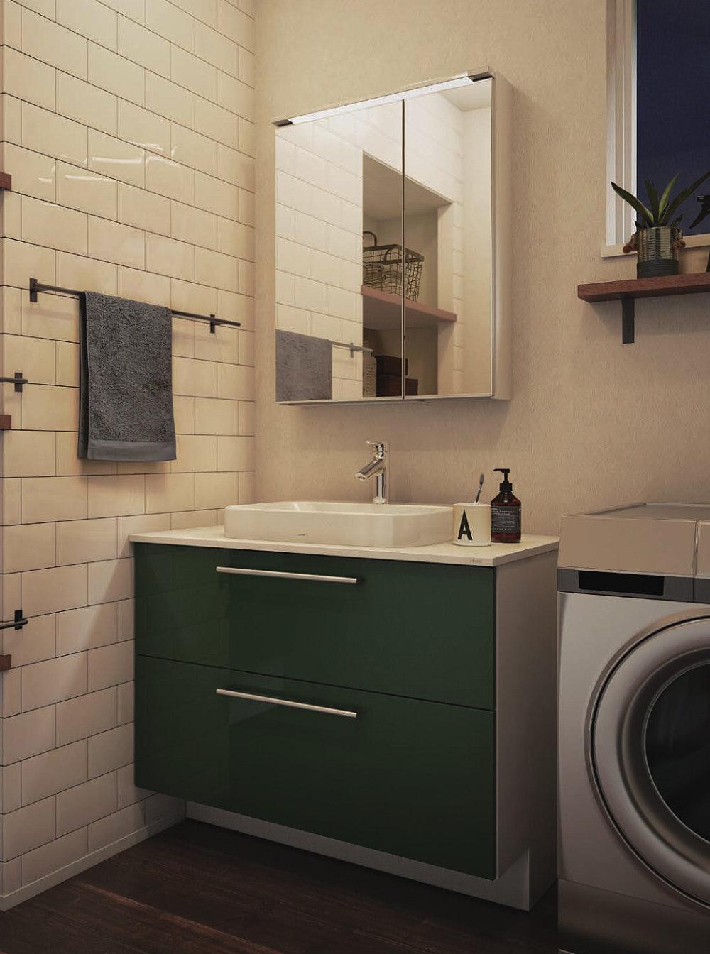 TOTO 新商品 洗面台ドレーナが8月に発売します。