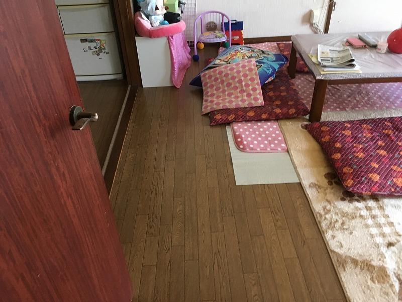 前橋市にて床補修のお見積りにお伺いしてきました! – ミヤケンリフォーム