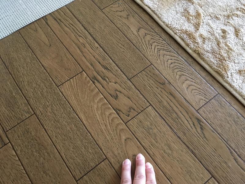 前橋市にて床補修のお見積りにお伺いしてきました!