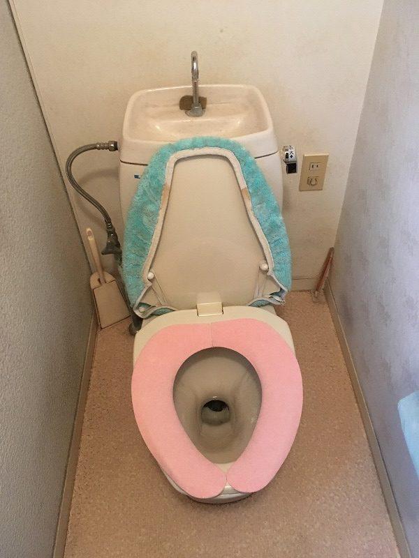 前橋市にてトイレと給湯器のお見積りにお伺いしてきました!