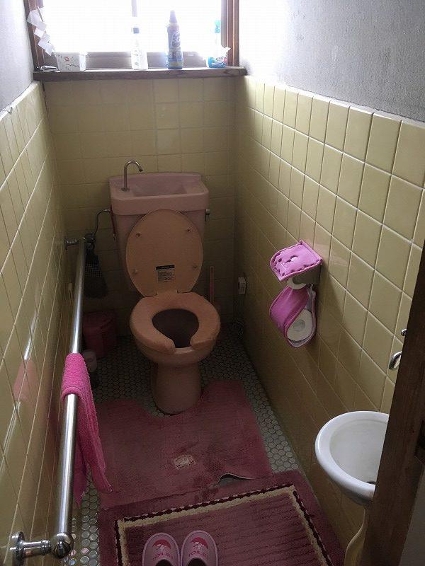 前橋市にてトイレ工事のお見積りにお伺いしてきました!