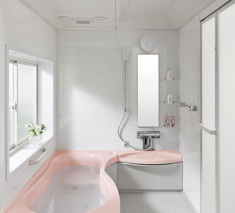かわいいデザイン。トクラスのバスルーム『ビュート』 – ミヤケンリフォーム