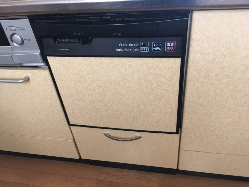 太田市にてビルトイン食洗機交換の現場調査にお伺いしました