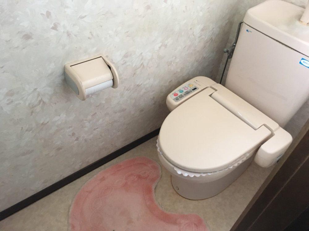 玉村町にてトイレ工事の現場調査にお伺いしました(TOTO GG)