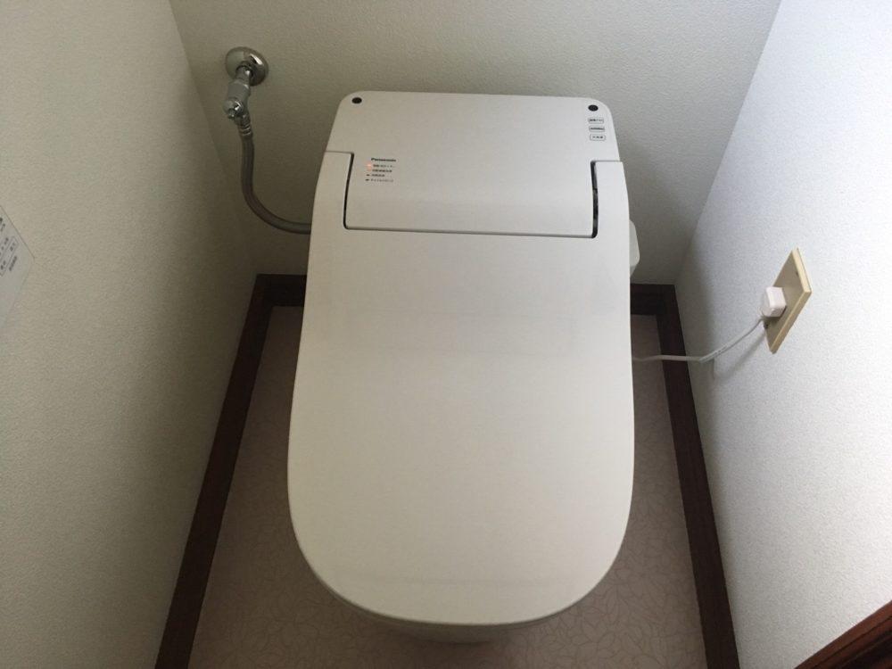 みどり市笠懸町でトイレ工事が完工しました(アラウーノSⅡ)
