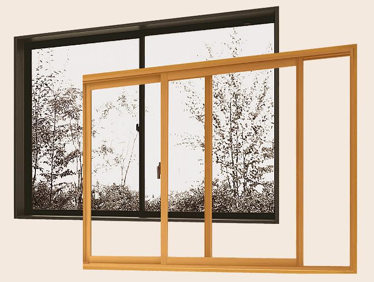 内窓取付で暑い夏をさわやかに快適に過ごせます。