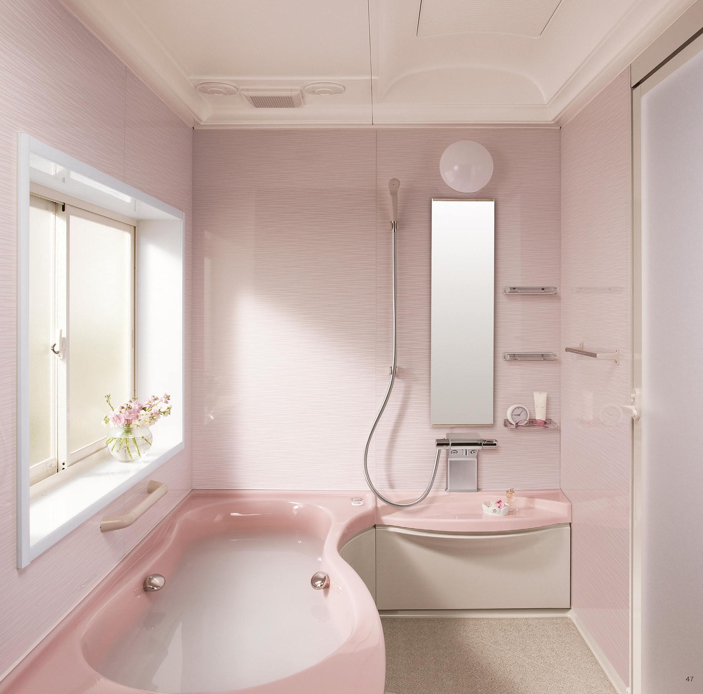 かわいいデザイン。トクラスのバスルーム『ビュート』