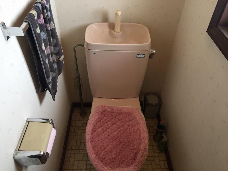 前橋市にてトイレ交換工事を行いました