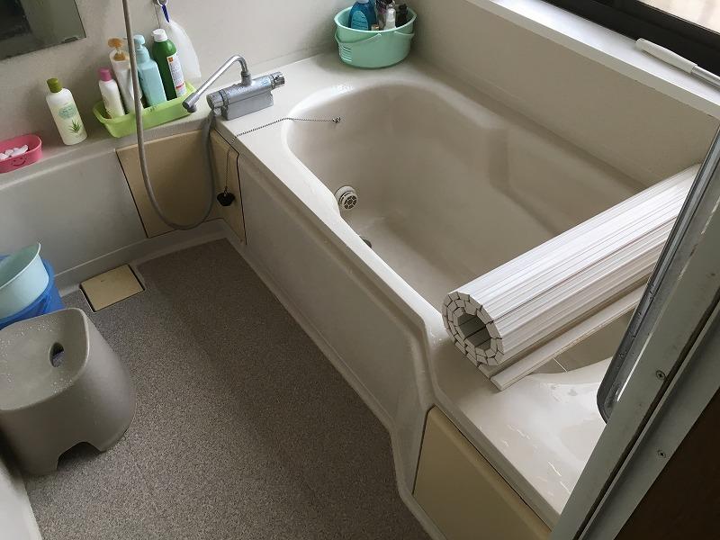 高崎市にて浴室工事の現場調査にお伺いいたしました!