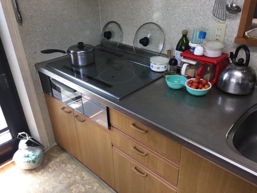 前橋市にて、洗面所・キッチン工事のお見積りにお伺いいたしました。 – ミヤケンリフォーム