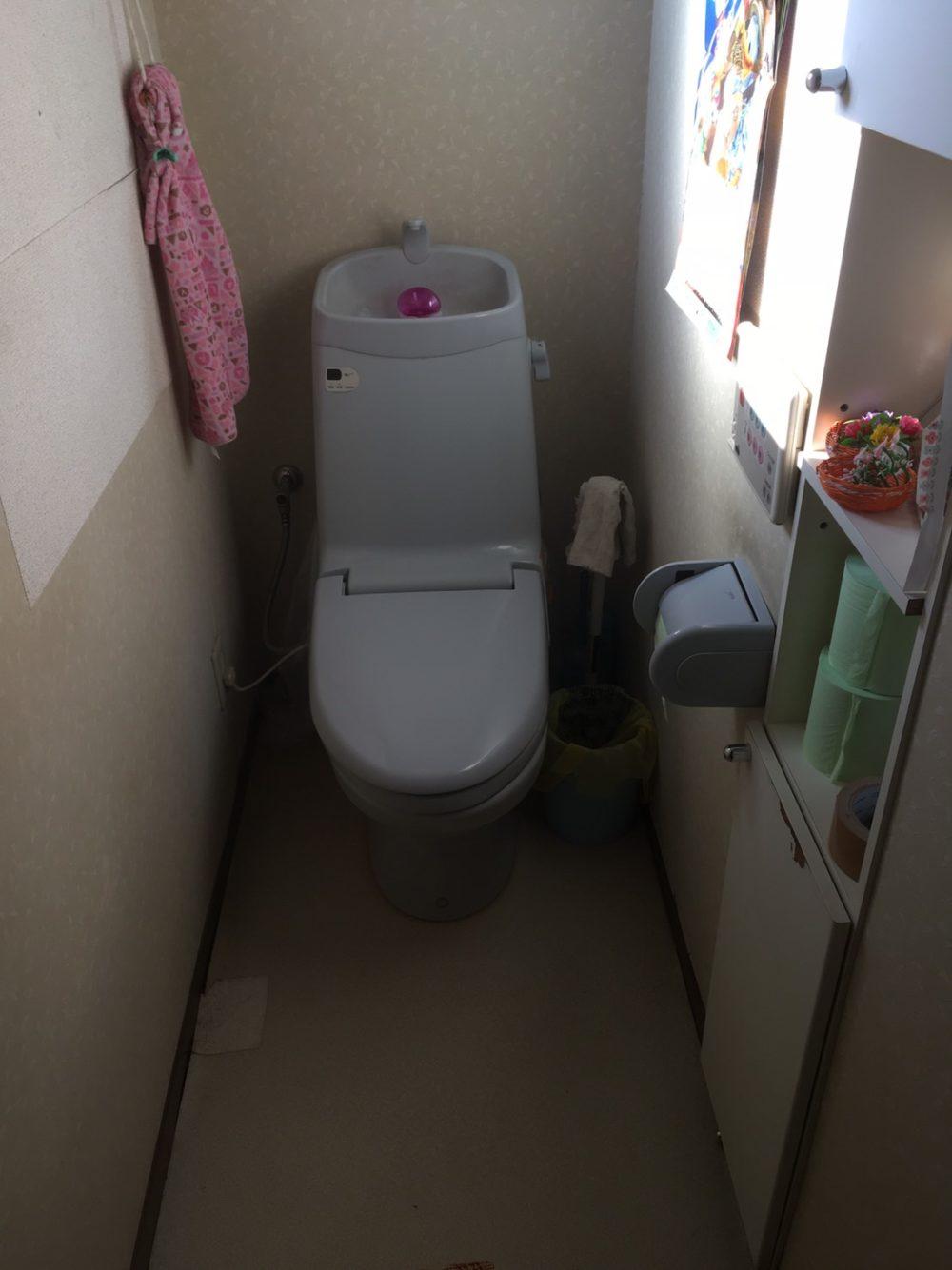 トイレ工事をご検討中の方には内装工事もご提案しています!