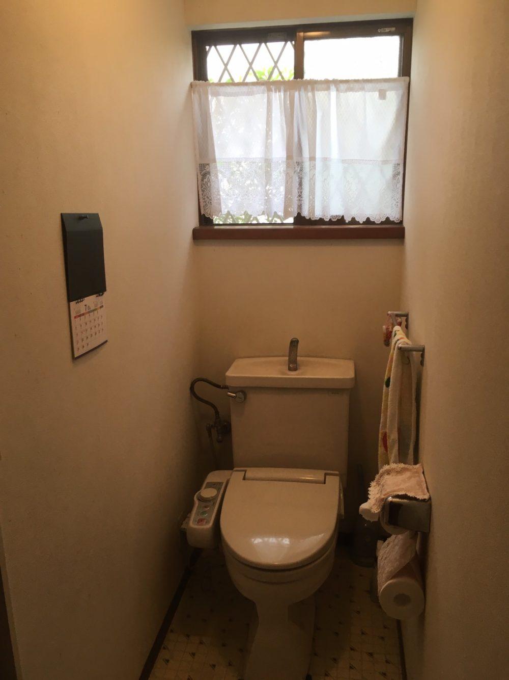 顧客様のお家にトイレのお見積りにお伺いいたしました!