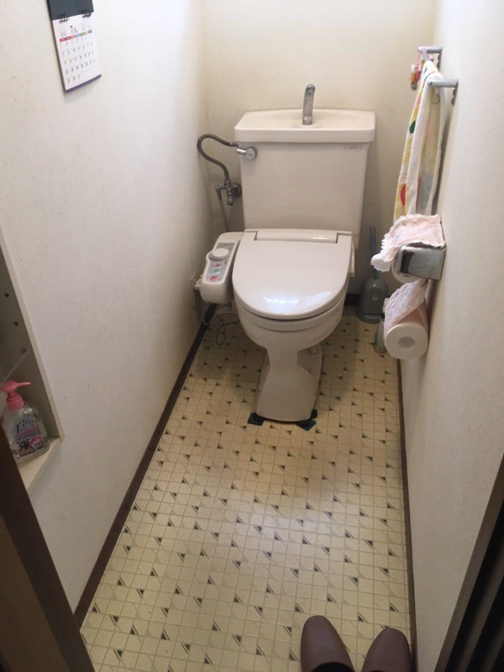 顧客様のお家にトイレのお見積りにお伺いいたしました! – ミヤケンリフォーム