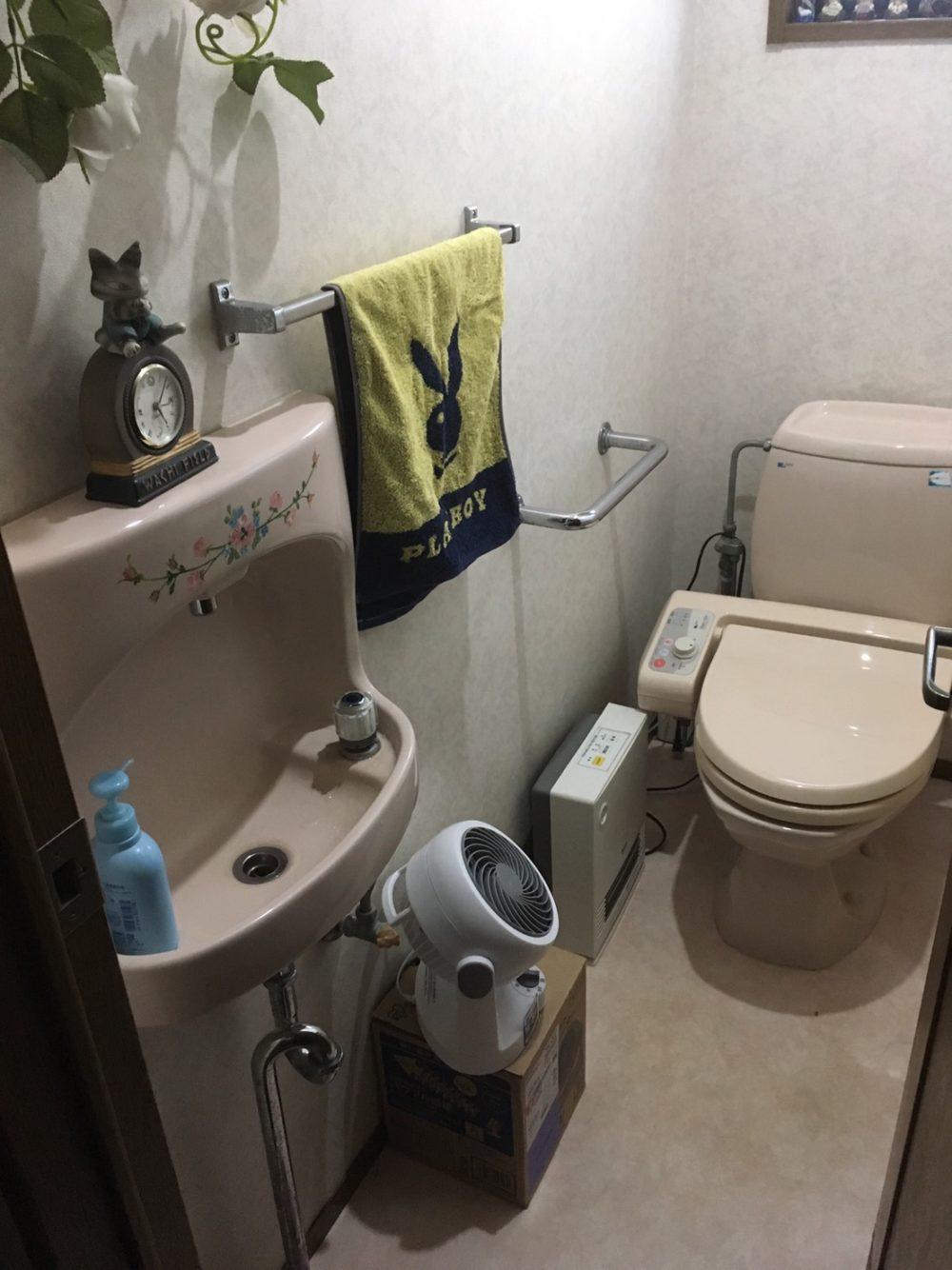 顧客様のお家にトイレのお見積りにお伺いいたしました!【アラウーノSⅡ】 – ミヤケンリフォーム