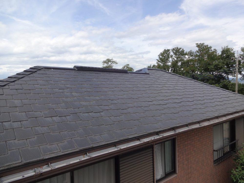 前橋市にてコロニアル屋根塗装工事の現場調査に行ってきました!