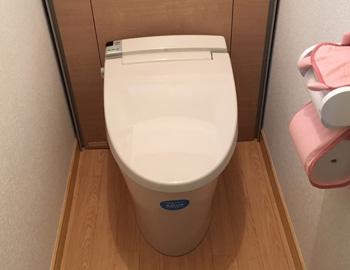 群馬県前橋市下川町K様 トイレ交換工事