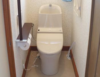 前橋市富士見町S様 トイレ交換工事